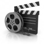 Bobina da cinema e ciak