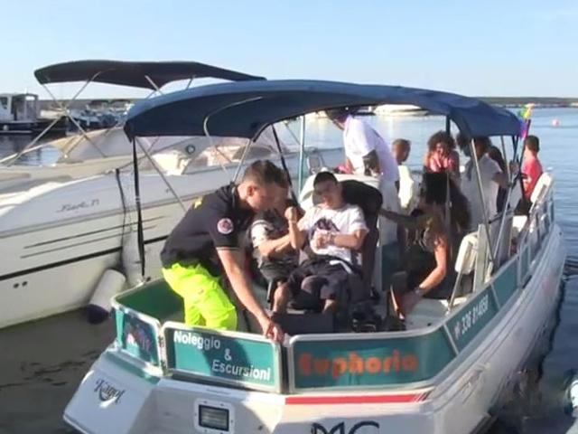 Euphoria con a bordo passeggeri disabili