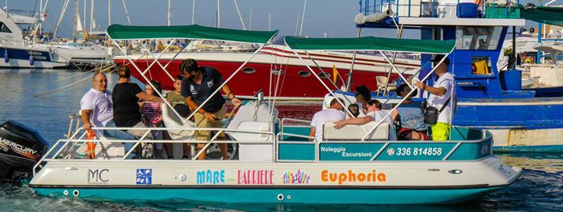 L'imbarcazione Euphoria
