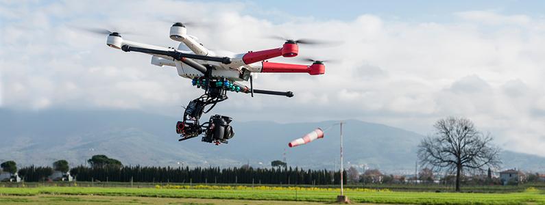 Drone in movimento