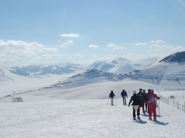 Panorama ghiacciato mozzafiato