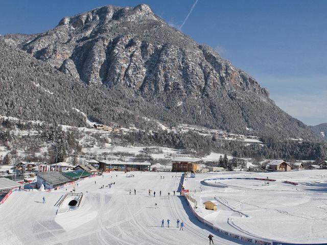 Immagine panoramica delle piste di fondo