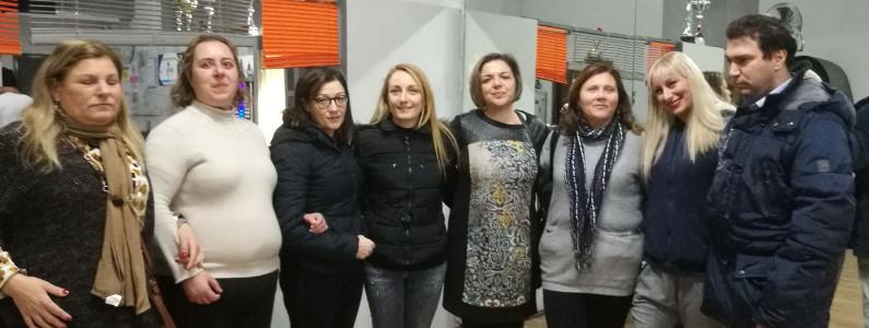 Foto di gruppo degli allievi