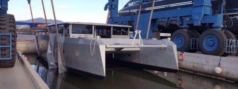 Il Catamarano Elianto