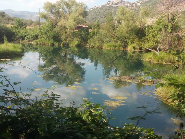 Incantevole vista sul fiume Cavata