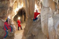 Le Guide esperte nelle grotte di Castellana