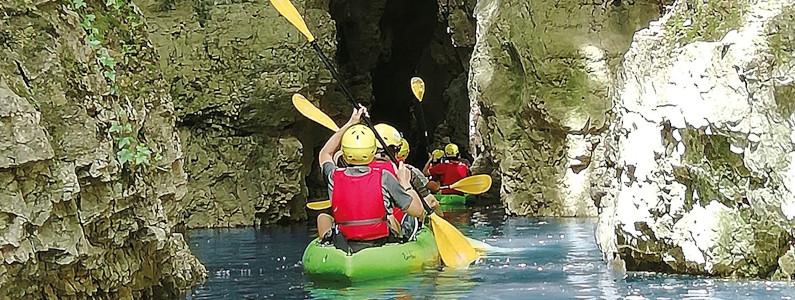 Un viaggio alla scoperta dei canyon in tutta la loro imponenza, tra le selvagge gole del torrente Novella