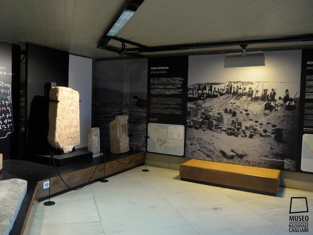 Stanza allestita del secondo piano del museo
