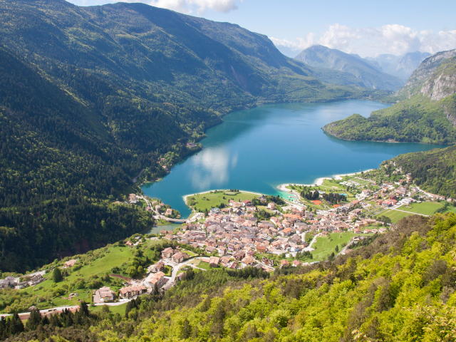 Percorso Lago di Molveno Dolomiti di Brenta